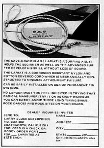 Première publicité pour un leash